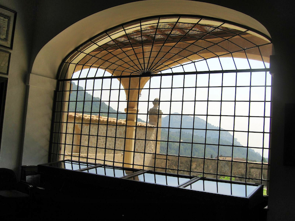Monastery room with a view: here's where Frederic Chopin and George Sand stayed when they spent time in Mallorca.
