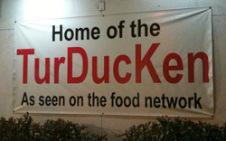 Turducken Sign
