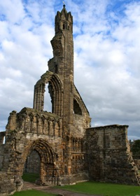 st andrews abbey ruins