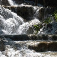 Jamaica Waterfall Dunn River