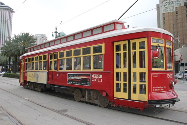 Louisiana street car