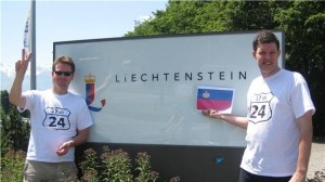 liechtenstein border sign