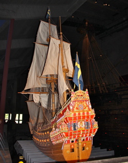 small vasa model sweden