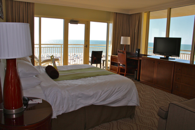 florida hotel room with balcony