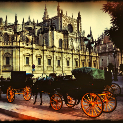 horse-and-buggies in Seville