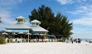 Beachfront Dining On The Sandbar Restaurant Anna Maria Island Fl