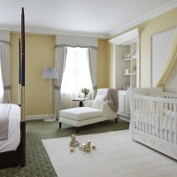 Amazing luxury for the traveling baby! Suite Dreams Nursery at Grosvenor House, a JW Marriott Hotel in London