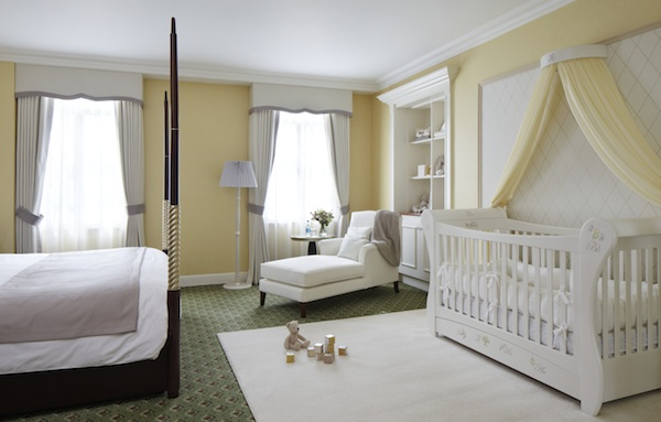 Suite Dreams Nursery At Grosvenor House In London A Crib
