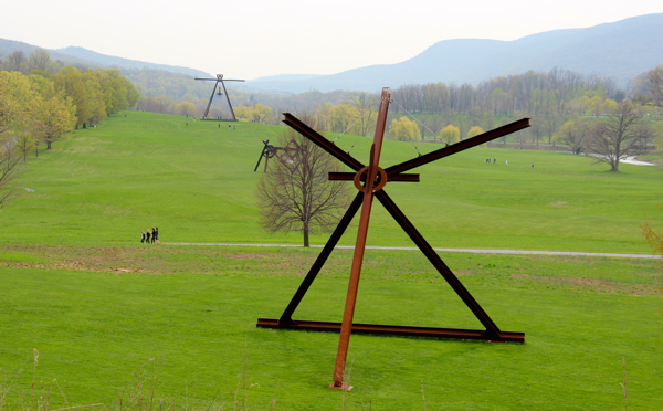 Storm King Art Center, a modern art sculpture park in the beautiful Hudson Valley region of New York