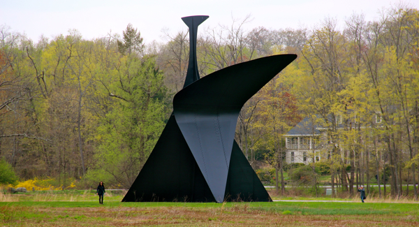 The Arch by Alexander Calder at Storm King Art Center in New Windsor, NY