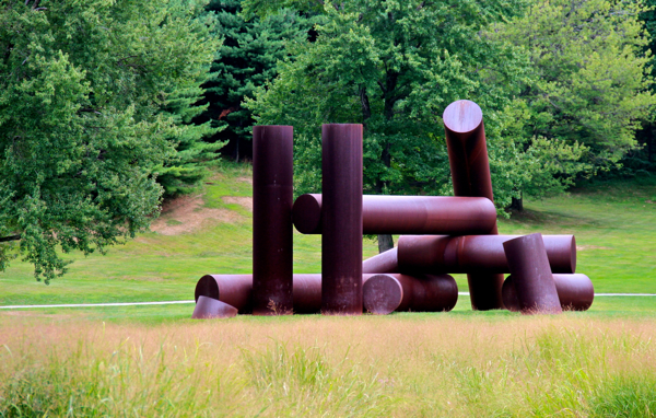 Adonai by Alexander Lieberman; Storm King Art Center