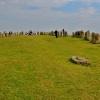 Did you know that Sweden has its own Stonehenge? This is Ales Stenar, which means Ale's Stones.