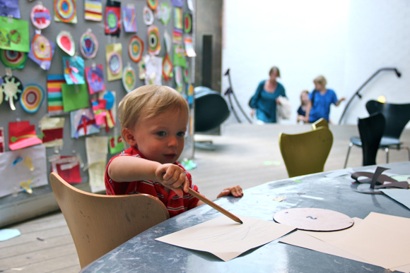 Like so many museums and historical sites in Scandinavia, the Louisiana Museum of Modern Art remembers its youngest visitors. There's a whole Children's Wing, with ample room for them to get creative!