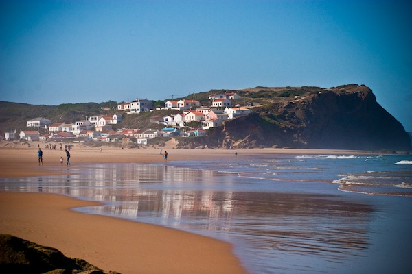 Praia de Monte Clerigo, another of the beautiful beaches near Aljezur, Portugal; photo by Cassar Photography.