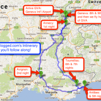 Travelogged.com's Itinerary for July 2013! Follow along the journey: http://travelogged.com