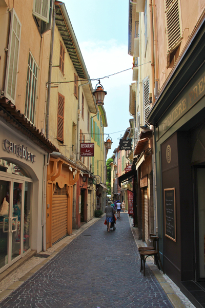 The Old Town of Antibes, France