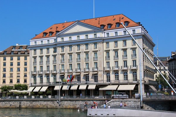 The Four Seasons Hotel Des Bergues in Geneva is the city's first hotel, having opened in 1834. #FSFamily