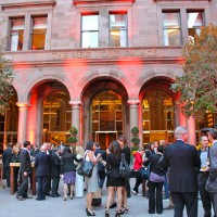 The New York Palace celebrated the completion of its $140 million renovation with a swank party in its famous courtyard.