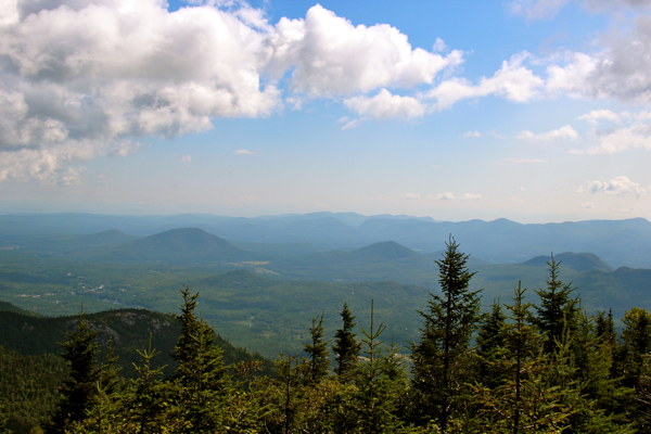 More views from the top of Little Whiteface. We enjoyed walking around after taking the Cloudsplitter Gondola.