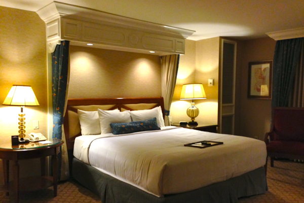 After a long day of travel from NYC to Biloxi, I was ready to lie right down on my bed at the Beau Rivage Biloxi!