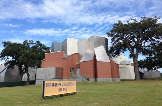 "Dedicated to the ""mad potter"" George Ohr, The Ohr-O'Keefe Museum in Biloxi has some impressive Frank Gehry buildings."