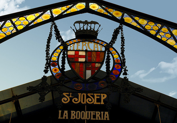 The Mercat de Sant Josep de la Boqueria -- you must stop in Barcelona's legendary market when you visit!