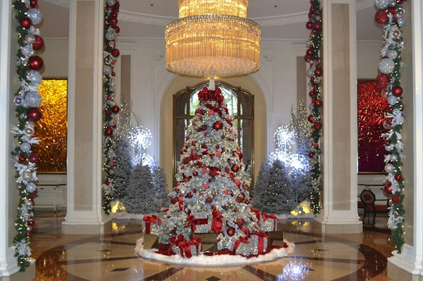 the best hotel christmas trees in the us - Best White Christmas Tree