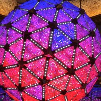 You can visit the New Year's Eve ball year-round at the Times Square Museum & Visitor Center