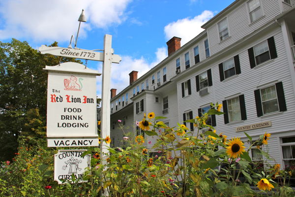 The Red Lion Inn in Stockbridge, Mass., is a picture-perfect New England country inn.