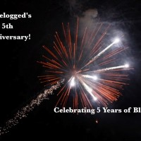 Celebrating 5 years of blogging! Happy blogiversary to Travelogged!