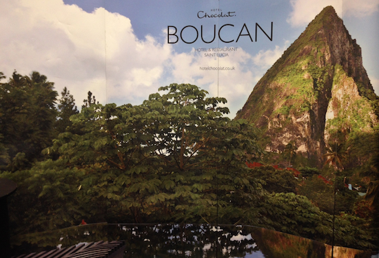 Hotel Chocolat's Boucan is set on a cocoa plantation in St. Lucia. A hotel that's all about chocolate? Yes, please!