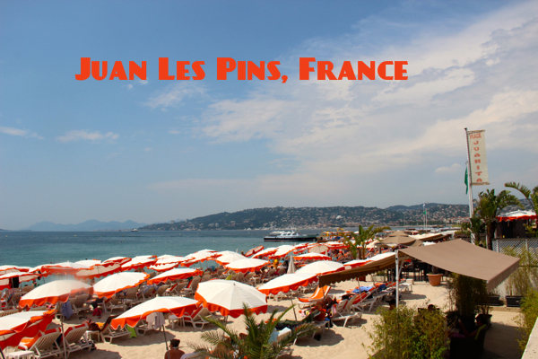 Juan Les Pins, France, is one of the chicest spots on the French Riviera.
