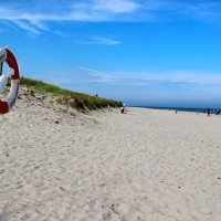 Sandhammaren is Sweden's longest beach.