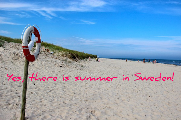 "The southernmost point in Sweden, Sandhammaren boasts an extremely long stretch of soft, white sand that tourism materials tout as the ""World's Largest Sandbox."""