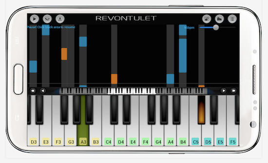 Perfect Piano is a great app for the Samsung Galaxy tablet.