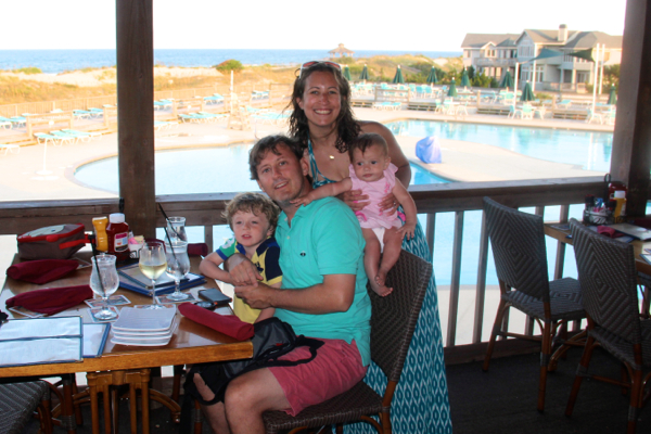 Dining at the Oceanfront Grille at Corolla Light Resort