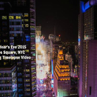 Amazing #timelapse video of New Years Eve 2015 in Times Square #NYC by The Timelapse Group