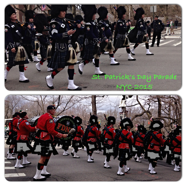 St. Patrick's Day Parade in NYC 2015