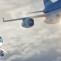KLM's Bluey now has his own movie!