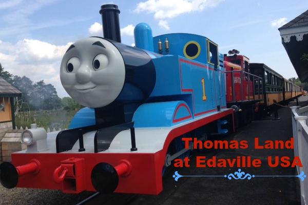 Thomas Land at Edaville USA -- the first Thomas theme park in the US!